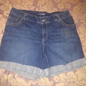 Lane Bryant size 16 denim shorts